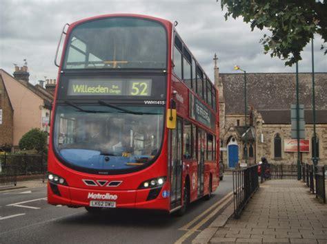 london buses    metrolines frog exchange enviro