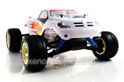 conquistador nitro rc monster acme conquistador monster white
