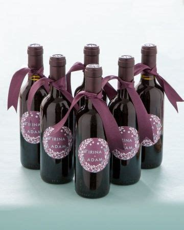 Wedding Favors Wine Bottles by Mini Wine Bottle Favors With Custom Labels Designed By