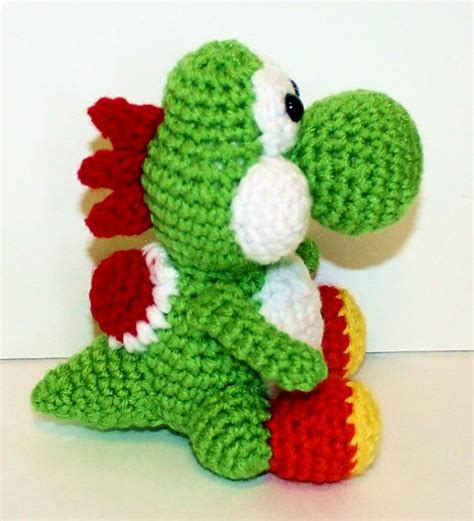 crochet pattern yoshi our favourite nerdy makes free craft project crafts