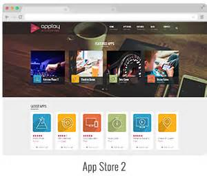 themes store free download applay wordpress app showcase app store theme by