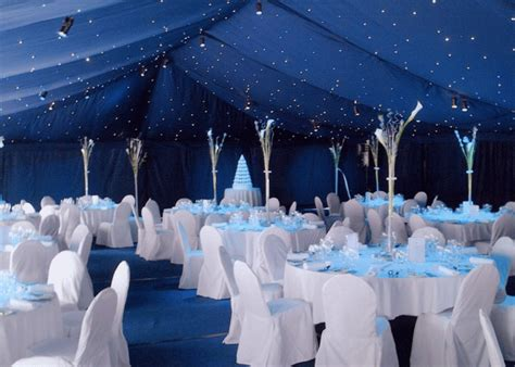Blue And White Wedding Decorations by T J Memories Wedding Table Setting Ideas