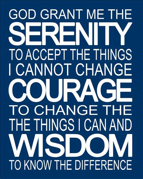 printable recovery quotes serenity prayer inspirational spiritual subway art