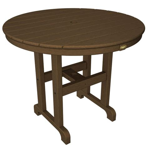36 Patio Table Trex Outdoor Furniture Monterey Bay 36 In Tree House Patio Dining Table Txrt236th The