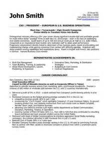 Resume 101 Pdf ceo president resume template premium resume samples