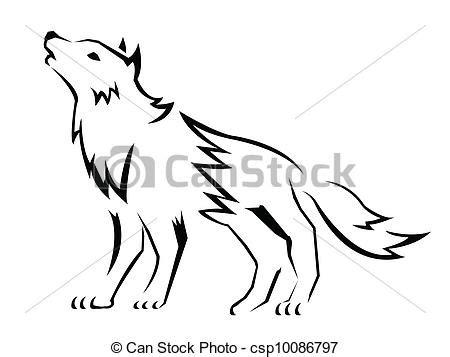 imagenes de vectores lineales lobo vectores eps buscar im 225 genes de galer 237 a multimedia