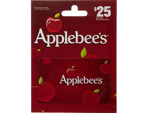 Applebees Gift Card Deals - 25 off applebee s gift cards