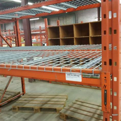 Modern Rack Deck by We Sell New And Used Wire Mesh Decking For Pallet Rack