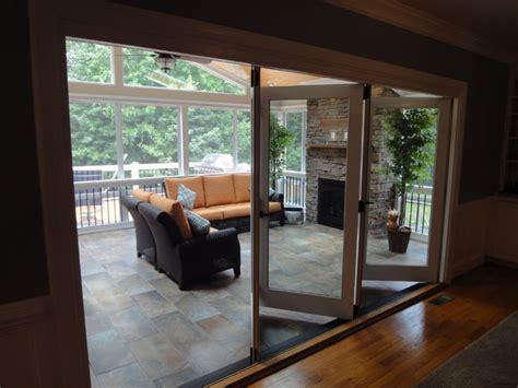 fireplace screens raleigh nc raleigh nc 3 season room with outdoor fireplace