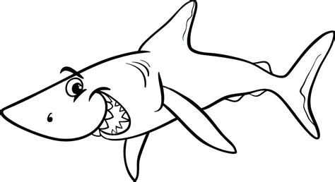 Coloring Page Shark by Shark Coloring Pages Appytrucksandskulls
