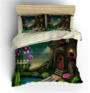 bedding hobbit fairy forest bedding duvet cover by folkandfunky