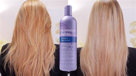 shimmer lights before and after clairol professional shimmer lights shoo before and