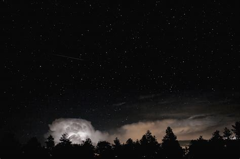 The Pleiades Meteor Shower by Spaceweather Com 2007 Perseid Meteor Shower Photo Gallery
