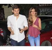 Iker Casillas Returns To Madrid With Wife Sara Carbonero