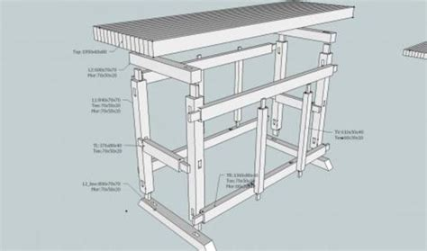 progetto banco falegname costruzione banco da falegname italian woodworkers forum