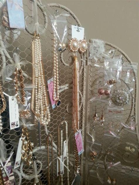 my vintage chic jewelry shabby chic jewelry display ideas pintere