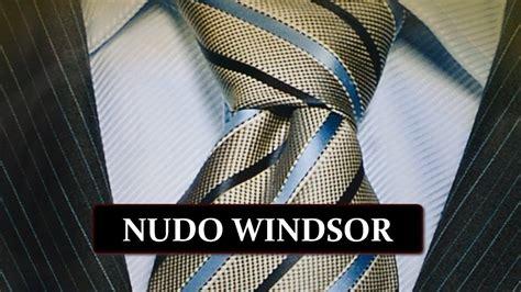 nudo medio windsor como hacer un nudo de corbata medio windsor youtube