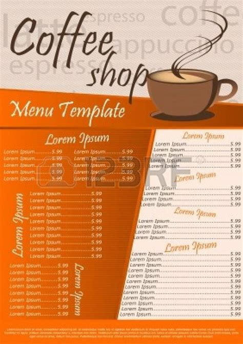 coffee shop menu template free pin by badolato on drink coffee or die