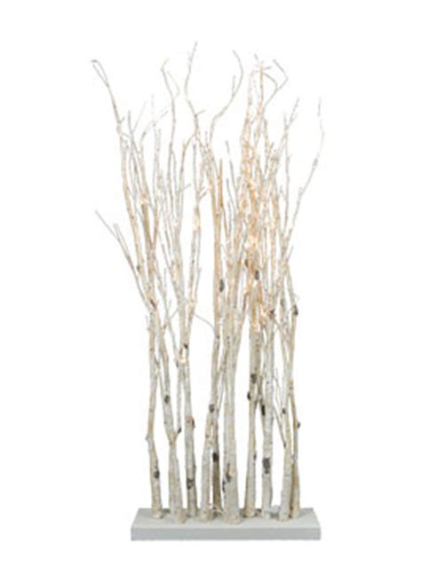 light up twig branches stand lighted birch clump branch on stand 47 inch with 90
