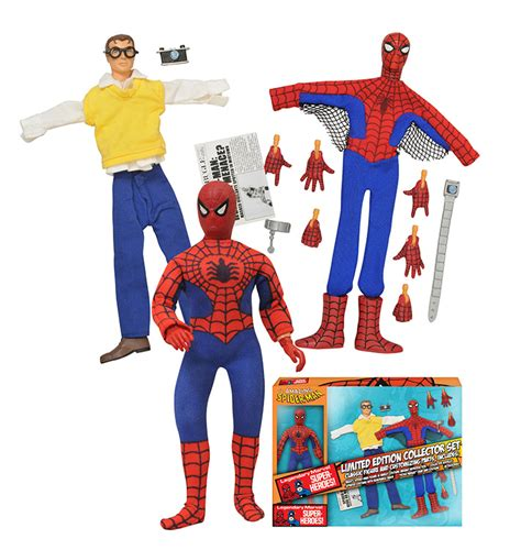 Limited Stock Wall E Figure Set spider 8 quot retro figure set limited edition