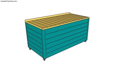 Patio Storage Box Plans by Garden Storage Box Plans Free Garden Plans How To