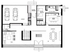 ground floor plan for home gp house in hidalgo mexico by bitar arquitectos