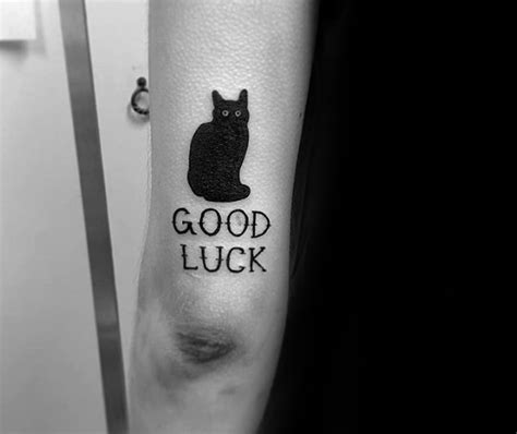 good luck tattoos designs 40 luck tattoos for lucky design ideas