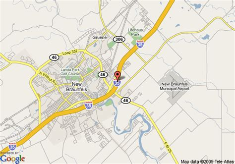 map of new braunfels texas hotel information hotel map hotel photos