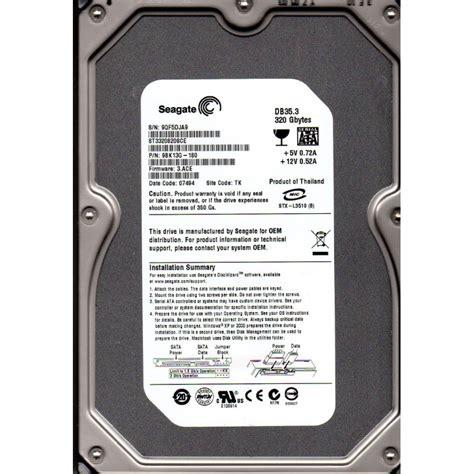 Hardisk Pc Seagate 500gb Sata Ii 35 seagate db35 3 series 320gb 7200 rpm sata ii 8 mb buffer