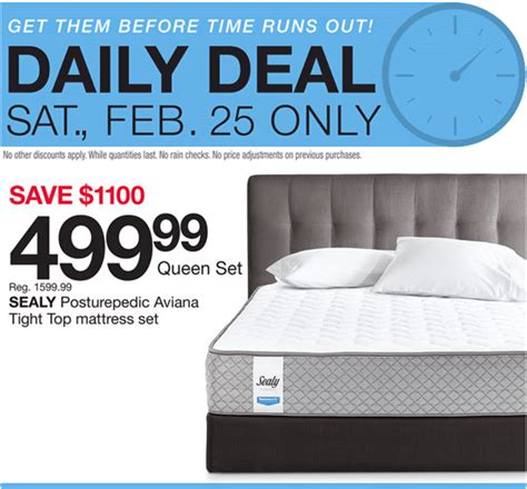 Mr Mattress Discount Code by Home Outfitters Canada Daily Deals Today Save 69 On