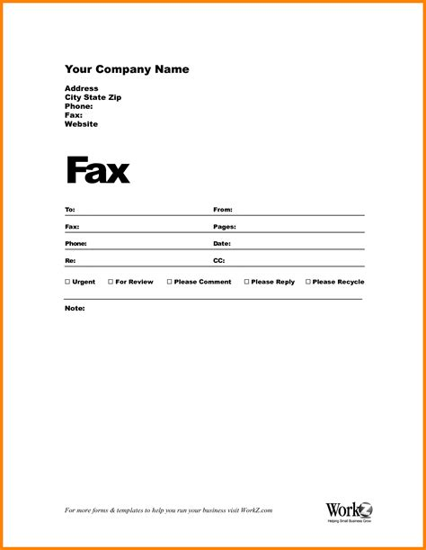 sle of fax cover microsoft templates fax cover sheet cover letter templates