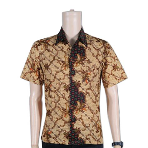 Baju Batik Kemeja Panjang Batik Minu Daun grosir baju kemeja batik murah toko grosir
