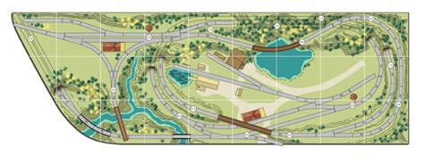 online train layout design n scale model train track plans train set track mat