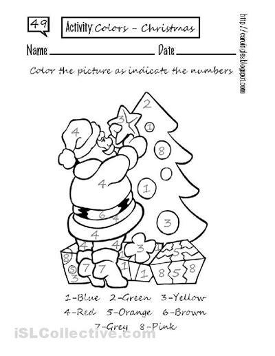 kindergarten christmas pattern worksheet holiday worksheets for preschool preschool printable
