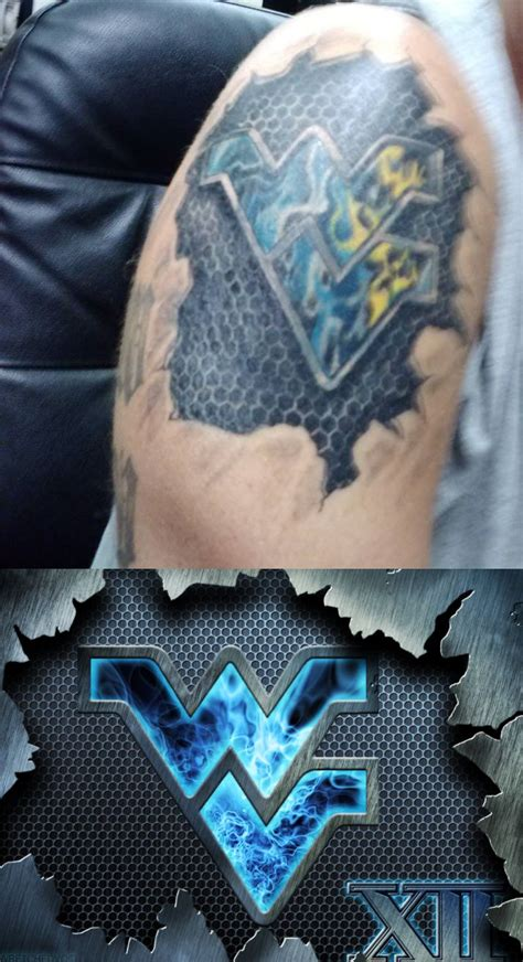 west virginia tattoos designs this is awesome one of my flying wv designs flying wv