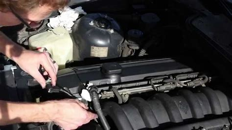 small engine maintenance and repair 1998 bmw 7 series parking system how to replace the camshaft position sensor on the bmw e36 1998 328i youtube