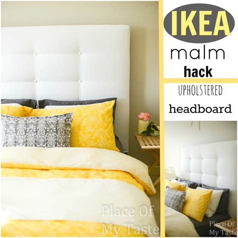malm bed hack ikea hacks a diy upholstered malm headboard