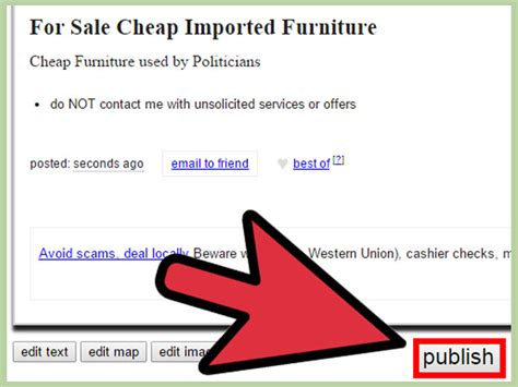 I Posted An Ad On Craigslist This Morning To Rent by How To Post Ads To Craigslist With Sle Ads Wikihow