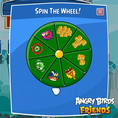 Spin The Wheel Power Ups Gif By Angry Birds Find Share Html5 Spinning Wheel