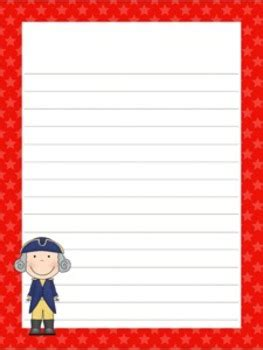 presidents day writing paper presidents day writing paper 3 styles 7 1 2 x 10 by