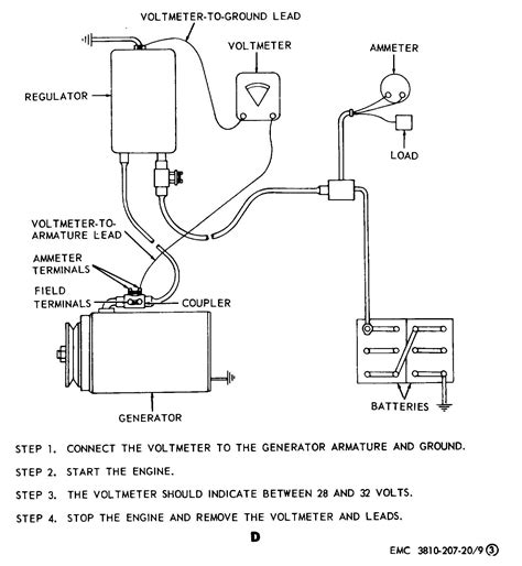 volt generator wiring diagram