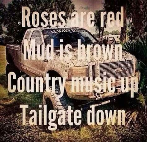 Country Music Video Mudding | country girl and mud trucks quotes
