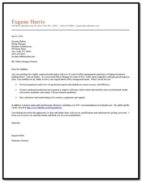 cover letter for office clerk sle cover letter for resume office clerk cover letter