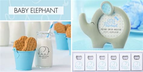 City Baby Shower Supplies by Blue Baby Elephant Baby Shower Supplies City