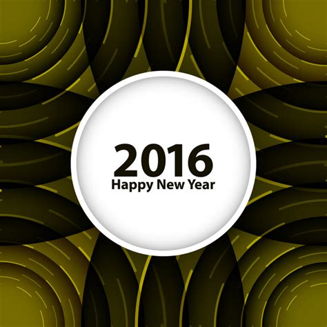 new year 2016 graphic design happy new year 2016 background free vector in encapsulated