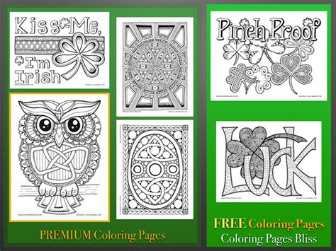 coloring pages bliss blog st patrick s day coloring pages