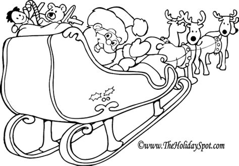 movable santa coloring page christmas pictures to colour in of santa color bros