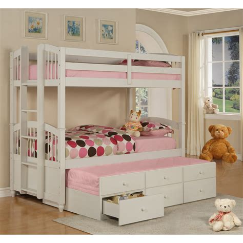 Bunk Bed Plans With Storage Bunk Beds With Trundle And Storage Best Storage Design 2017