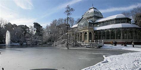 fotos invierno madrid image gallery invierno el retiro