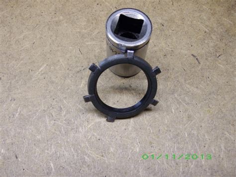 model t ford forum front crank seal felt or teflon